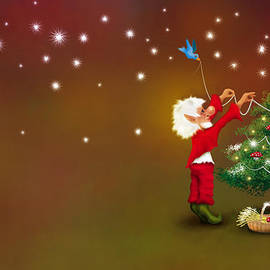 Christmas Pixie by Mariella Wassing