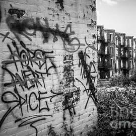 Paul Velgos - Cincinnati Abandoned Buildings Graffiti