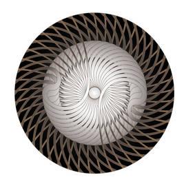 Circle Study No. 305 by Alan Bennington