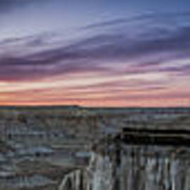 Darcy Michaelchuk - Coalmine Canyon Panoramic Sunset