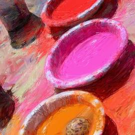 RG McMahon - Color Paint Bowls