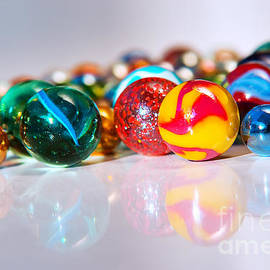 Colorful Marbles by Carlos Caetano
