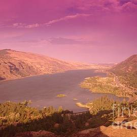 Jeff Swan - Columbia Gorge From Historic Hghiway 30