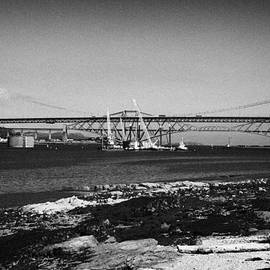 Joe Fox - construction underway to build the forth replacement crossing bridge over firth of forth bridges