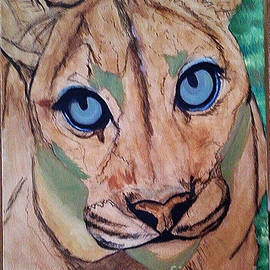 Cougar - Wip by Donna Proctor