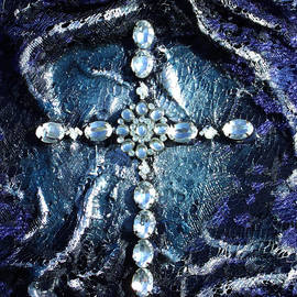 Angela Stout - Cross With Siver