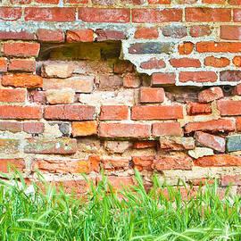 Tom Gowanlock - Crumbling wall