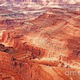 Dappled Light on Canyonlands by Bob and Nancy Kendrick