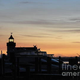 Dawn at Saybrook Dock by Meandering Photography