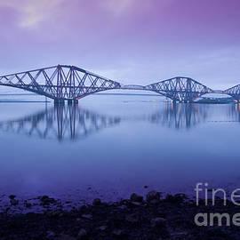 Donald Davis - Dawn Light at the Forth Bridge Edinburgh