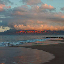 Dawn Over West Maui by Stephen  Vecchiotti