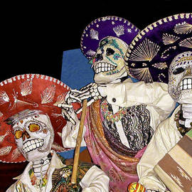 Day of the Dead Dia de los Muertos by LeeAnn McLaneGoetz McLaneGoetzStudioLLCcom