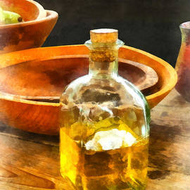 Decanter Of Oil by Susan Savad
