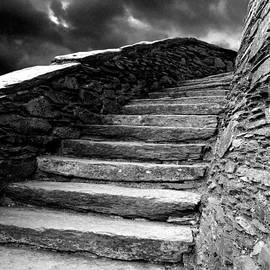 Duncan Rowe - Dolbadarn Castle Steps