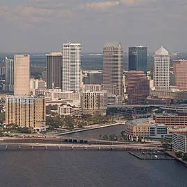 Downtown Tampa Skyline by John Black