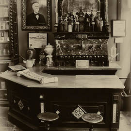 Drugstore Soda Fountain - New Orleans by Bill Cannon