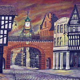 Ronald Haber - Eastgate Clock - Chester