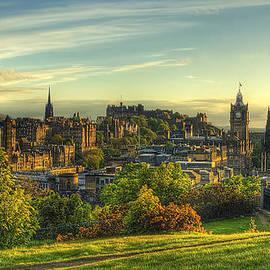 Don Alexander  Lumsden - Edinburgh View