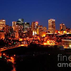 Rachel Duchesne - Edmonton Skyline