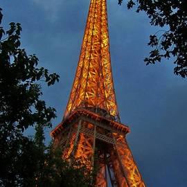 Eiffel tower at Night by John Malone