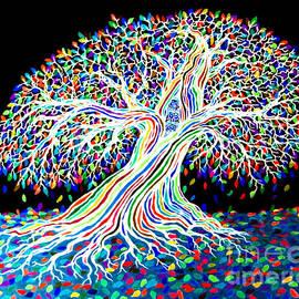 Nick Gustafson - Electric Rainbow Tree