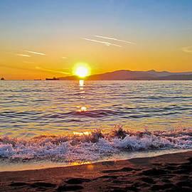 Eva Kondzialkiewicz - English Bay - Beach Sunset