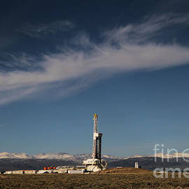 Edward R Wisell - Ensign Drilling Rig 125