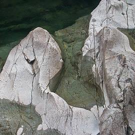 Etched Rock Water 5 by David Kleinsasser