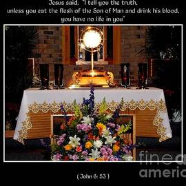 Eucharist Unless You Eat The Flesh by Rose Santuci-Sofranko