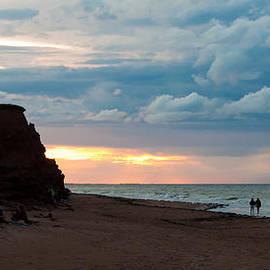 Matt Dobson - Evening Beach Scene