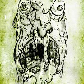 Evil Snot Monster by Nada Meeks