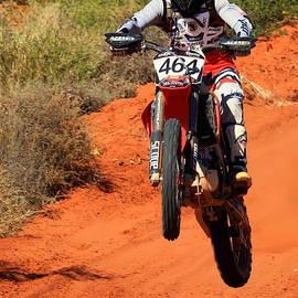 Finke Desert Race Bike-464 by Paul Svensen