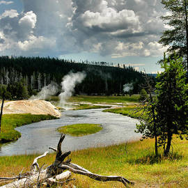 Firehole River by Steven Ainsworth