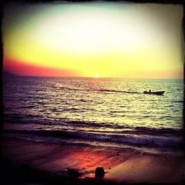Fishing At Sunset (puerto Vallarta)