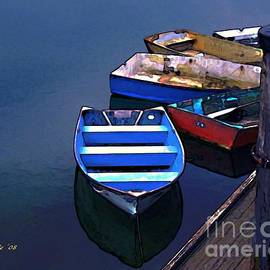 Five Dinghies by Dale   Ford