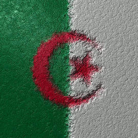 Flag Of Algeria by Jeff Iverson
