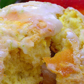 Flaky Mango Scones with Lime Glaze by James Temple