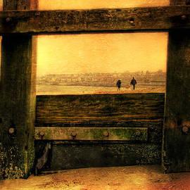 Den McKervey - Framed on the Beach