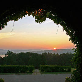 Framed Sunrise by Gerald Mitchell