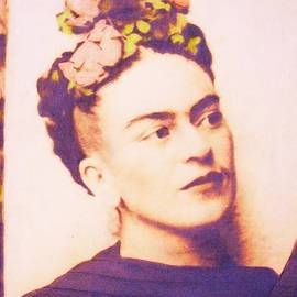 Frida In Sepia by Roberto Prusso