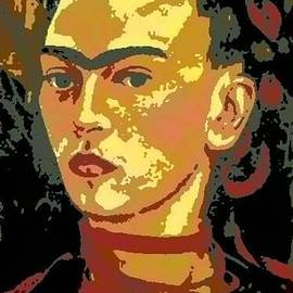 Frida Kahlo - Courage Personified by Angela L Walker