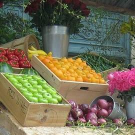 Fruit Stand by John Shiron