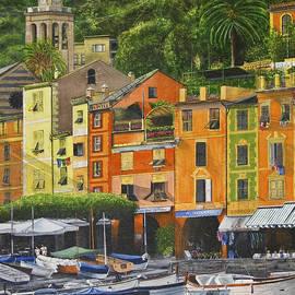 Genoa Marina by Stuart B Yaeger