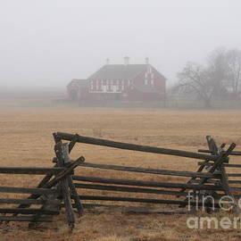 Gettysburg Red Barn by Roseanne Lafferty