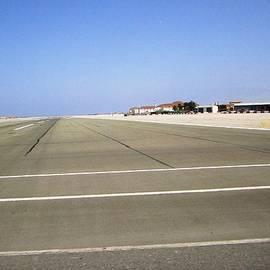 Gibraltar Airport Runway Crossing Uk by John Shiron