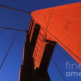 Golden Gate Bridge Detail by Bob Christopher