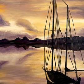 Golden Sunset by Patty Vicknair