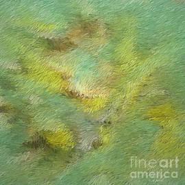 Deborah Benoit - Green Tone Abstract