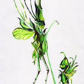 Growing Grass by Mindy Newman