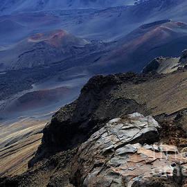 Haleakala Crater Maui Hawaii  by Bob Christopher